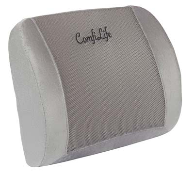 7. ComfiLife Lumbar Pillow