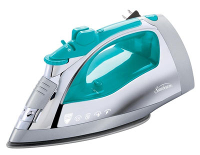 7. Sunbeam 1400 Watt Stainless Steel Steam Iron