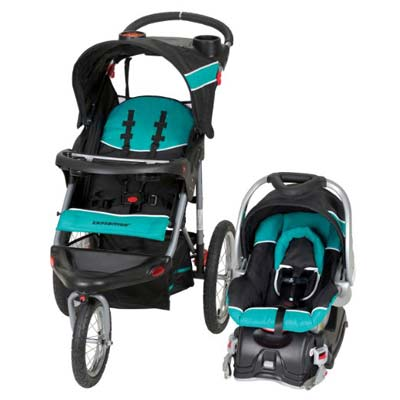 4. Baby Trend Jogger Stroller (Travel System)