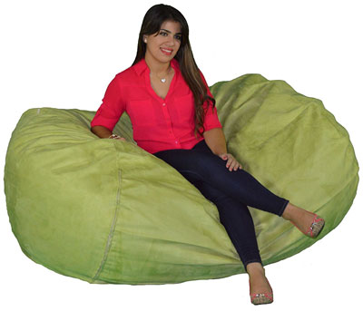 Cozy Sack 6 Foot Large Bean Bag Chair