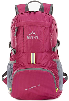 1. Venture Pal Hiking Backpack