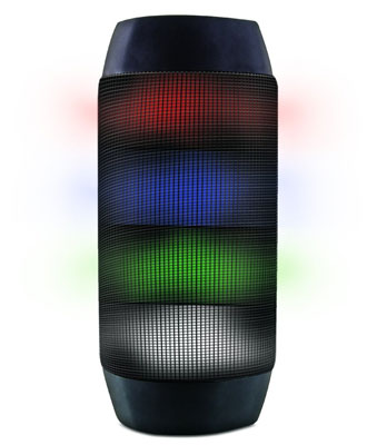 4. Aduro LED Bluetooth Speaker