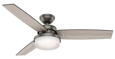 "4. Hunter Fan Company 59211 52"" LED Ceiling Fan"