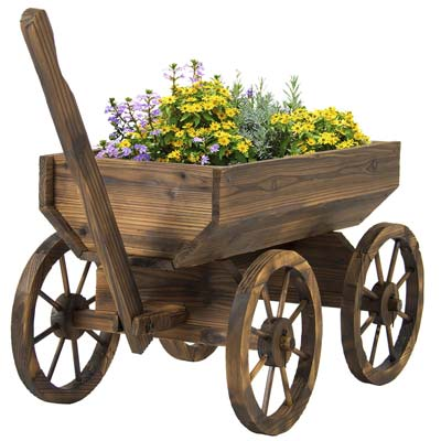 6. Best Choice Products Garden Flowers Planter