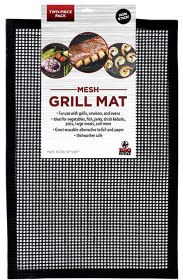 10. BBQ Butler BBQ Grill Mat (Set of 2)