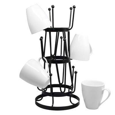 9. Neat-O Mug Tree Holder Organizer Rack Stand