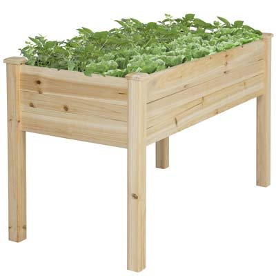 2. Best Choice Products Elevated Planter