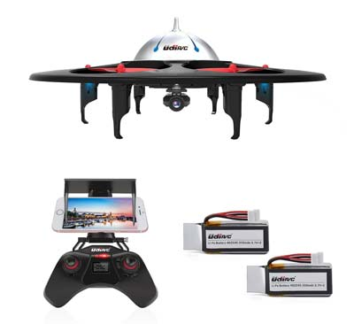 9. DBPOWER UDI U845 RC Quadcopter