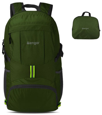 10. Mengar 35L Water Resistant Hiking Backpack