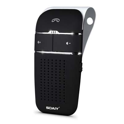 1. SOAIY S-32 Bluetooth Speakerphones in Car