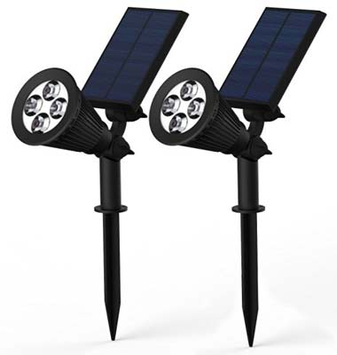 8. Lemontec Solar Lights