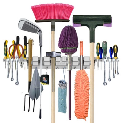 8. Anybest Mop Broom Holders