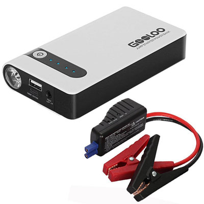 8. GOOLOO 450A Peak Car Jump Starter