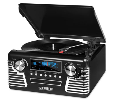 9. Innovative Technology Bluetooth Turntable (50's Retro)