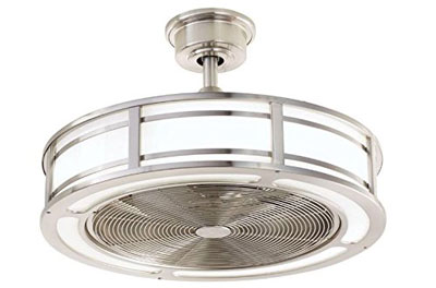 "5. Home Decorators Collection Brette 23"" LED Ceiling Fan"