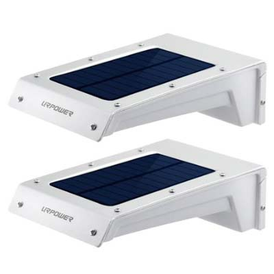 1. URPOWER Solar Lights (24 LED Solar Motion Sensor Lights)