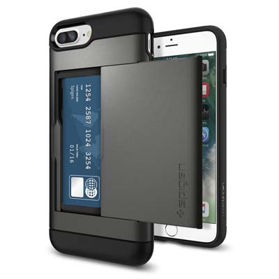 9. Spigen iPhone 7 Plus Case (043CS20526-Slim Armor CS)