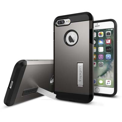 7. Spigen iPhone 7 Plus Case (043CS20529-Tough Armor)