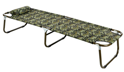 6. Ancheer Folding Camping Bed Cot