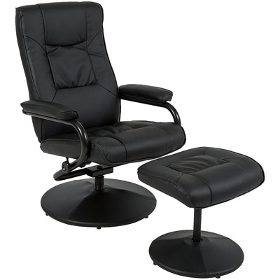 Best Choice Products Recliner Chair with Footrest Stool Ottoman  sc 1 st  Ahjoo : best leather recliner chairs - islam-shia.org