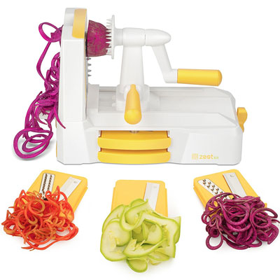 6. Zestkit Tri-Blade Vegetable Slicer