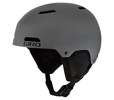 7. Giro Men's Ledge Snow Helmet 2016 (Matte Titanium)