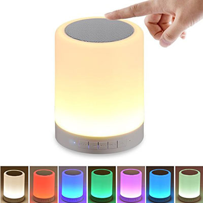 5. SHAVA Night Light with Bluetooth Speaker
