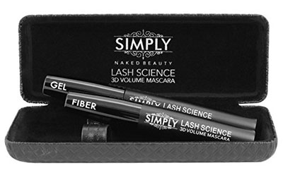 3. Simply Naked Beauty 3D Fiber Lash Mascara