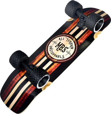 "5. MBS 33"" Woody All Terrain Skateboard"
