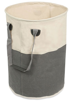 5. BirdRock Home Round Laundry Hamper