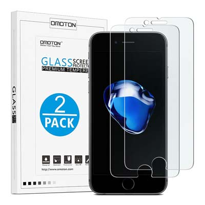 13. OMOTON iPhone 7 Plus Screen Protector