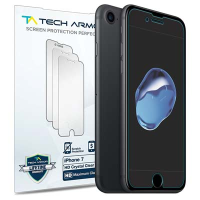 12. Tech Armor iPhone Screen Protector