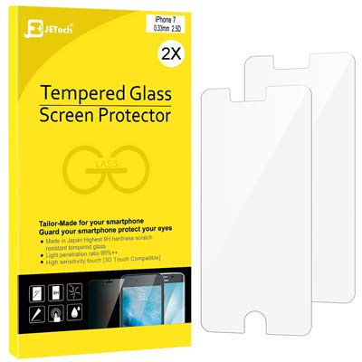 10. JETech iPhone 7 Screen Protector