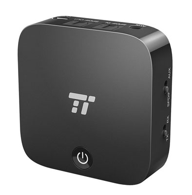 4. TaoTronics Bluetooth Transmitter and Receiver