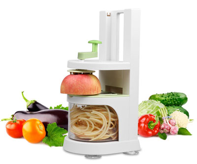 8. MixMart Vegetable & Fruit Spiralizer