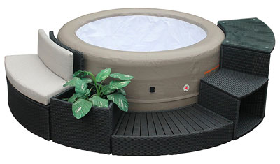 10. Canadian Spa Company Inflatable Portable Spa