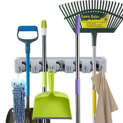 5. Newdora Mop Broom Holder