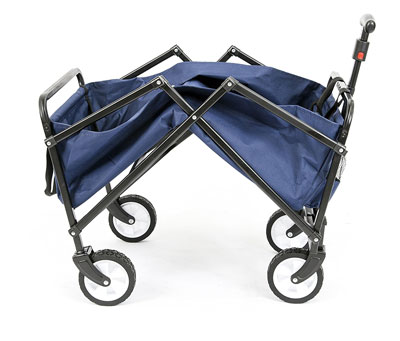10. YSC Folding Wagon (Navy Blue)