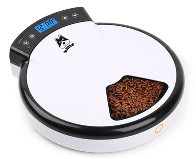 4. TD Design 5 x 240ml Automatic Pet Feeder