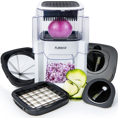 1. Fullstar 5 In 1 Vegetable Chopper