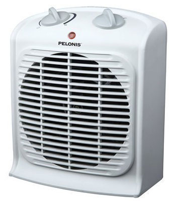 4. Pelonis Fan-Forced Heater