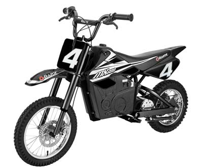 10. Razor 15165001 MX650 Electric Dirt Bike for Kids