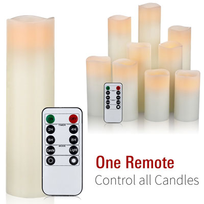 1. Comenzar Flameless LED Candle Set