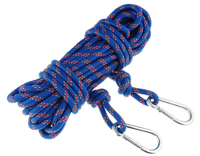 3. ROSY CLOUDS 15M (49ft) Rock Climbing Auxiliary Rope
