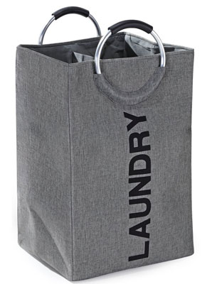 7. Fragrantt Double Laundry Hamper