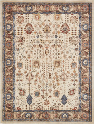 6. A2Z Rug 9' x 12' St. James Area Rug