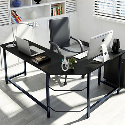 3. Tribesigns L-Shaped Computer Desk