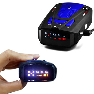 1. Meter.llc Radar Detector for Cars
