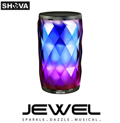 9. SHAVA Night Light with Bluetooth Speaker