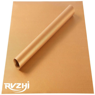 5. RVZHI BBQ Grill & Baking Mats (Set of 2)